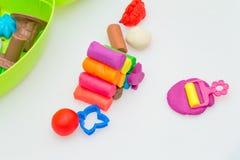 Pasta y diversión del juego Foto de archivo libre de regalías