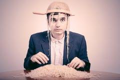 Pastafarian engraçado Fotos de Stock Royalty Free