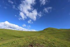Pastagem bonita da montanha alta em China Fotografia de Stock Royalty Free
