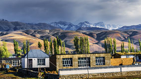Pastagem de NaLaTi em Xinjiang, China Fotografia de Stock