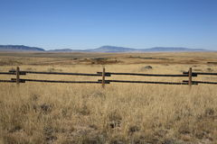 Pastagem de Wyoming Imagens de Stock
