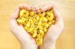 Älskvärd pasta Royaltyfri Foto