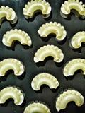 Pastamodell arkivbild
