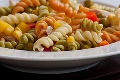 pastaplatta Fotografering för Bildbyråer