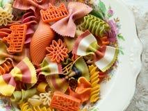 Pastas Imagen de archivo libre de regalías