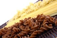 Pastas clasificadas Imagen de archivo libre de regalías