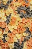 Pastas coloreadas Foto de archivo libre de regalías