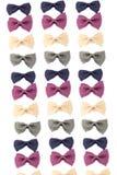 Pastas coloreadas del farfalle Imagen de archivo