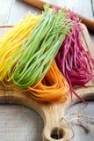 Pastas coloridas Imagen de archivo
