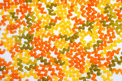 Pastas con el agente de colorante Fotografía de archivo libre de regalías