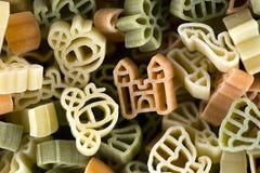 Pastas con formas imagenes de archivo
