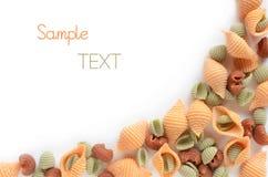 Pastas con sabor a frutas Imagen de archivo libre de regalías