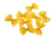 Pastas de Farfalle Fotos de archivo libres de regalías