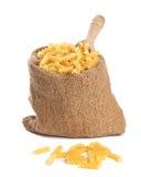 Pastas de Fusilli imagen de archivo libre de regalías