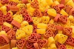 Pastas de las tarjetas del día de San Valentín Imagenes de archivo