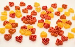 Pastas de las tarjetas del día de San Valentín Imágenes de archivo libres de regalías
