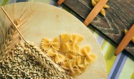 Pastas de los macarrones Foto de archivo libre de regalías