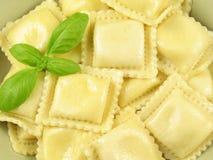 Pastas de los raviolis Imágenes de archivo libres de regalías