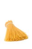 Pastas de mentira del espagueti Foto de archivo