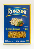 Pastas de Ronzoni Imagen de archivo