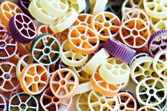 Pastas de Rotelle Fotografía de archivo libre de regalías