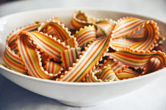 Pastas del arco iris Fotografía de archivo libre de regalías