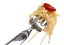 Pastas del espagueti imagen de archivo