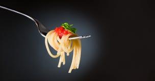Pastas del espagueti fotografía de archivo