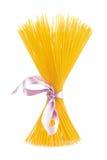 Pastas del espagueti aisladas Fotografía de archivo libre de regalías
