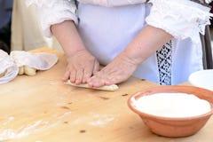 Pastas del Gnocchi de Cerdeña imágenes de archivo libres de regalías
