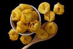 Pastas del Tortellini Fotos de archivo libres de regalías