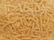 Pastas espirales Foto de archivo libre de regalías
