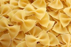 Pastas Farfalle Foto de archivo libre de regalías