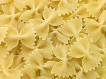 Pastas, Farfalle imagen de archivo libre de regalías