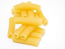 Pastas formadas tubo hueco largo. imágenes de archivo libres de regalías