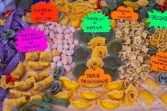 Pastas hechas en casa italianas Imagen de archivo