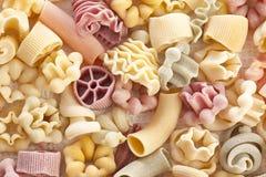 Pastas hechas a mano sin procesar Fotografía de archivo libre de regalías