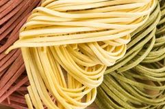 Pastas italianas Fotos de archivo libres de regalías