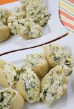 Pastas italianas Fotografía de archivo libre de regalías