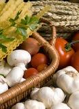 Pastas italianas 2 Imagen de archivo libre de regalías