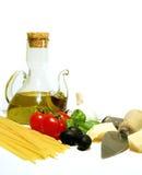 Pastas italianas Foto de archivo libre de regalías