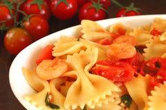 Pastas italianas Fotografía de archivo