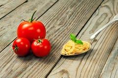 Pastas italianas Imágenes de archivo libres de regalías