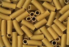 Pastas italianas de los macarrones Imagen de archivo