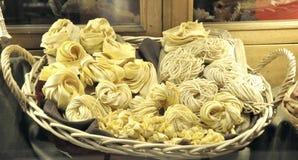 Pastas italianas del alimento Foto de archivo libre de regalías