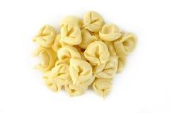 Pastas italianas del tortellini Foto de archivo