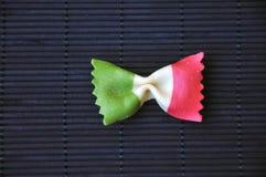 Pastas italianas divertidas Fotografía de archivo