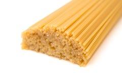 Pastas italianas sin procesar Fotografía de archivo libre de regalías
