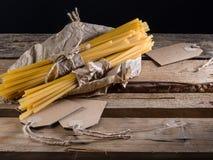 Pastas semielaboradas foto de archivo