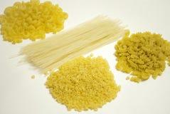 Pastas una fuente de carbohidratos Imagen de archivo libre de regalías